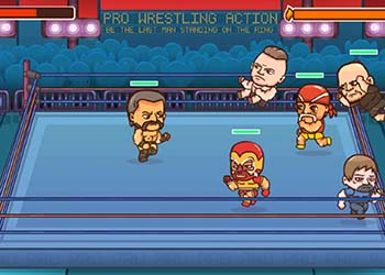 Play Pro Wrestling Action online - Screenshot 2