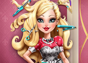 Play Pure Princess Real Haircuts online - Screenshot 1