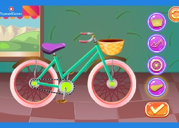 Play Rapunzel Repair Bicycle online - Screenshot 2