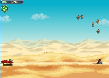 Play Road of Fury: Desert Strike online - Screenshot 1