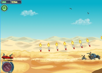 Play Road of Fury: Desert Strike online - Screenshot 2