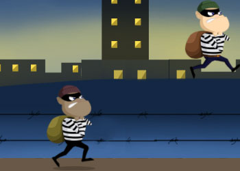 Play Robbers In Town online - Screenshot 2