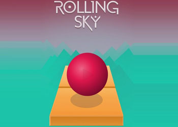 Play Rolling Sky online - Screenshot 1