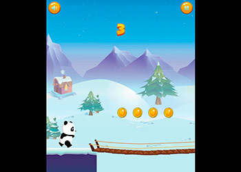Play Run Panda Run online - Screenshot 1