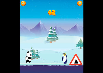 Play Run Panda Run online - Screenshot 2