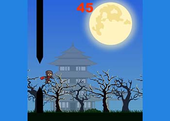 Play Running Ninja online - Screenshot 2