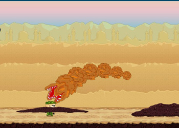 Play Sand Worm online - Screenshot 2