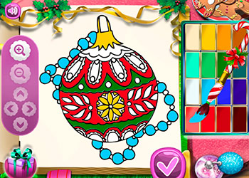 Play Santa Christmas Coloring online - Screenshot 1