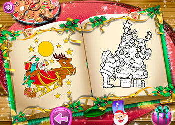 Play Santa Christmas Coloring online - Screenshot 2