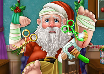 Play Santa Hospital Recovery online - Screenshot 1