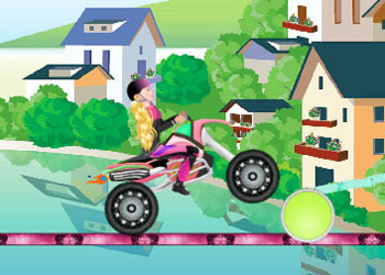 Play Sara Motocross Climb online - Screenshot 1