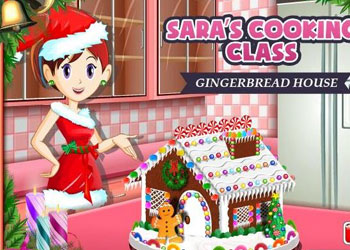 Play Saras Cooking Class: Gingerbread House online - Screenshot 1