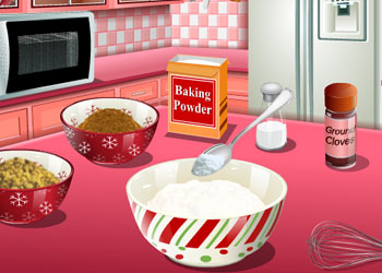 Play Saras Cooking Class: Gingerbread House online - Screenshot 2