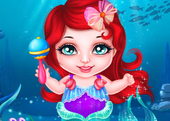 Play Sea Babies Ariel X Lagoona online - Screenshot 1
