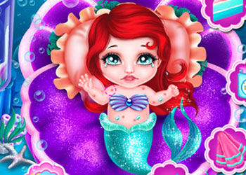 Play Sea Babies Ariel X Lagoona online - Screenshot 2