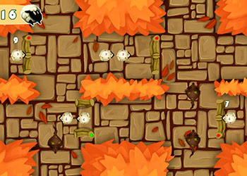 Play Sheep Road Danger online - Screenshot 1