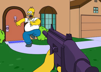 Play Simpsons 3d Save Springfield online - Screenshot 2