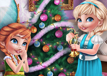 Play Sisters Christmas Room Prep online - Screenshot 1