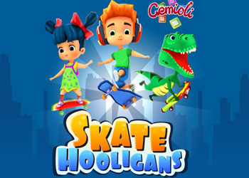 Play Skate Hooligans online - Screenshot 1