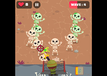 Play Skeleton Defense online - Screenshot 1