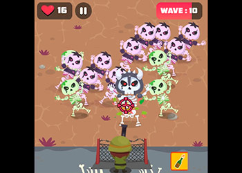 Play Skeleton Defense online - Screenshot 2