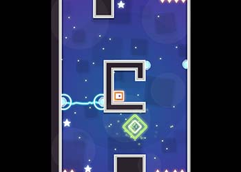 Play Sliding Escape online - Screenshot 1