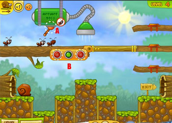 Play Snail Bob 2 online - Screenshot 2