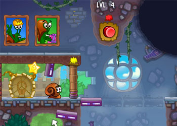 Play Snail Bob 5 online - Screenshot 1