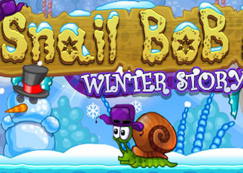 Play Snail Bob 6: Winter Story online - Screenshot 1