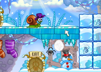 Play Snail Bob 6: Winter Story online - Screenshot 2