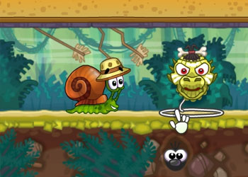 Play Snail Bob 8: Island Story online - Screenshot 1