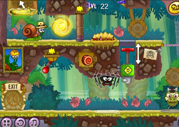 Play Snail Bob 8: Island Story online - Screenshot 2