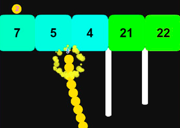 Play Snake Vs Blocks online - Screenshot 2