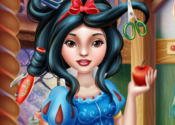 Play Snow White Real Haircuts Online Screenshot 1