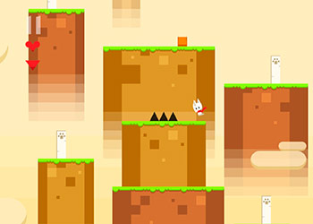 Play Snowy Kitty Adventure online - Screenshot 1