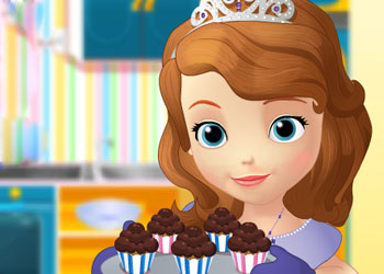 Play Sofia Cooking Muffins online - Screenshot 1