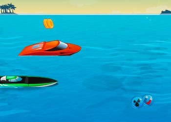 Play Speed boat racing online - Screenshot 1