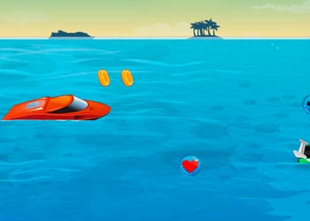 Play Speed boat racing online - Screenshot 2