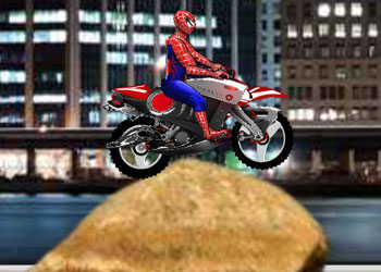 Play Spiderman Biker online - Screenshot 2