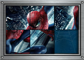 Play Spiderman Sliding Puzzles online - Screenshot 2