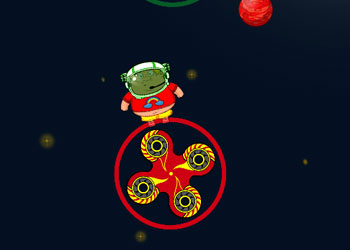 Play Spinner Astro the Floor is Lava online - Screenshot 2