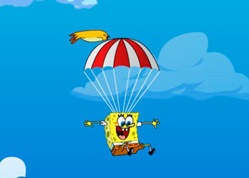 Play Sponge Bob Falling online - Screenshot 1