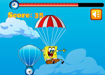 Play Sponge Bob Falling online - Screenshot 2