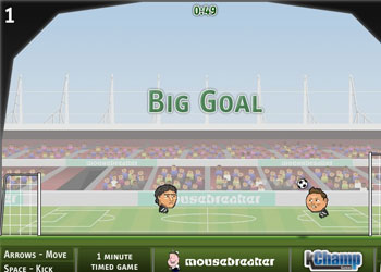 Play Sports Heads: Football game online - Screenshot 1