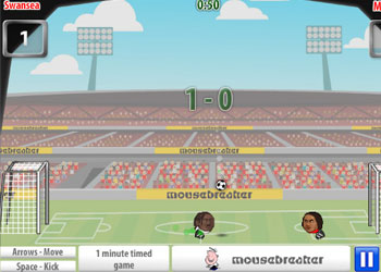 Play Sports Heads: Football game online - Screenshot 2