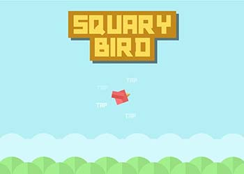 Play Squary Bird online - Screenshot 1