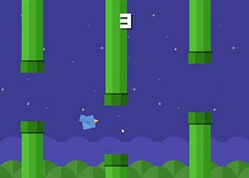 Play Squary Bird online - Screenshot 2