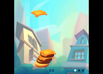 Play Stack The Burger online - Screenshot 1