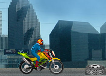 Play Star Stunt Biker online - Screenshot 2