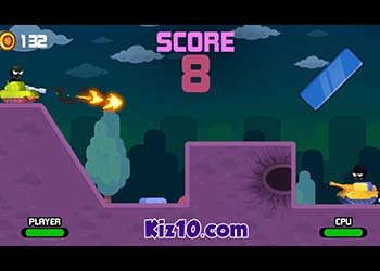 Play Stick Tank Wars online - Screenshot 2